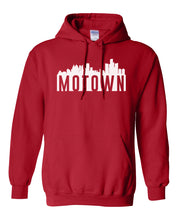 Load image into Gallery viewer, red Detroit Motown hoodie