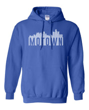 Load image into Gallery viewer, blue Detroit Motown hoodie