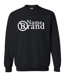 black name brand sweatshirt