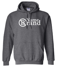 Load image into Gallery viewer, name brand charcoal pullover hoodie