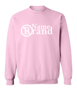 pink name brand sweatshirt