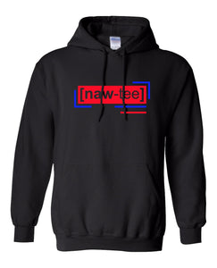 neon red florescent naughty streetwear hoodie