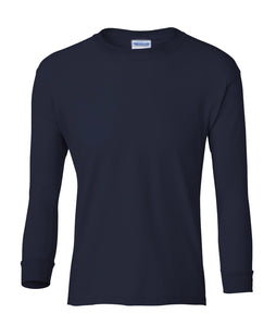 navy youth long sleeve t shirt
