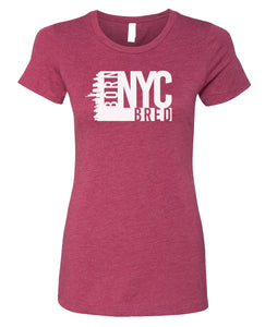 cardinal NYC women's t-shirt