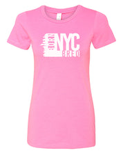 Load image into Gallery viewer, hot pink NYC women's t-shirt