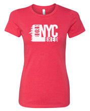 Load image into Gallery viewer, red NYC women's t-shirt