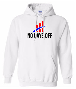 white no days off hoodie