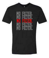 Load image into Gallery viewer, black no filter crewneck t shirt