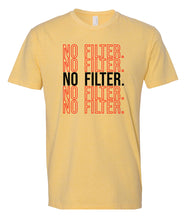 Load image into Gallery viewer, yellow no filter crewneck t shirt