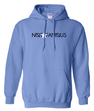 Load image into Gallery viewer, blue not famous hoodie