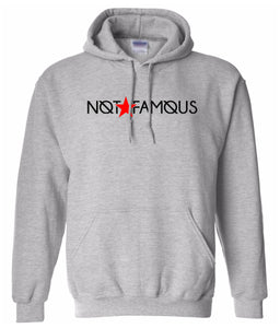 grey not famous hoodie