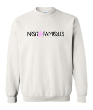 Load image into Gallery viewer, white not famous sweatshirt