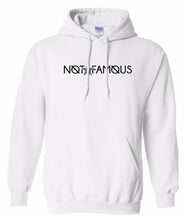 Load image into Gallery viewer, white not famous hoodie