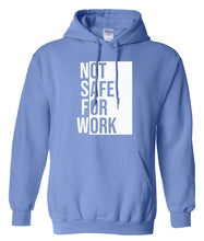 Load image into Gallery viewer, blue nsfw hoodie