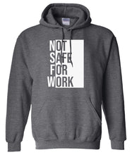 Load image into Gallery viewer, charcoal NSFW hoodie