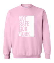 Load image into Gallery viewer, pink nsfw sweatshirt
