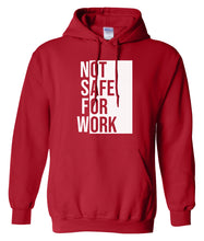 Load image into Gallery viewer, red nsfw hoodie