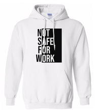 Load image into Gallery viewer, white nsfw hoodie