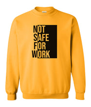 Load image into Gallery viewer, yellow NSFW sweatshirt