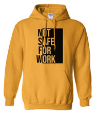 Load image into Gallery viewer, yellow NSFW hoodie