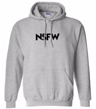 Load image into Gallery viewer, grey nsfw mens pullover hoodie