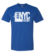 Load image into Gallery viewer, royal NYC born and bred t-shirt