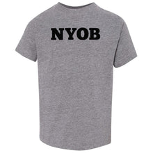 Load image into Gallery viewer, grey NYOB crewneck t shirt for toddlers