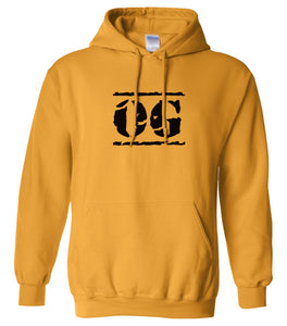 yellow og mens pullover hoodie