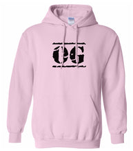 Load image into Gallery viewer, pink OG hooded sweatshirt for women
