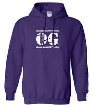Load image into Gallery viewer, purple OG hooded sweatshirt for women