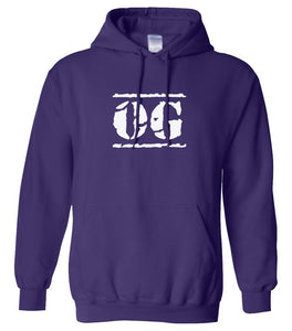 purple OG hooded sweatshirt for women