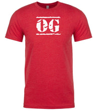 Load image into Gallery viewer, red og mens crewneck t shirt