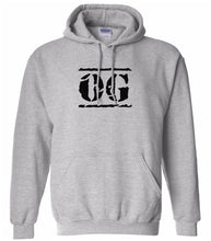 Load image into Gallery viewer, grey OG hooded sweatshirt for women