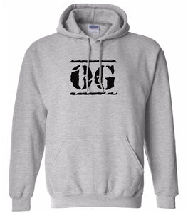 grey OG hooded sweatshirt for women