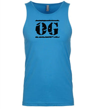 Load image into Gallery viewer, blue og mens tank top