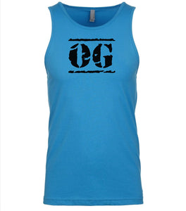 blue og mens tank top