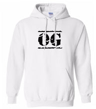 Load image into Gallery viewer, white OG hooded sweatshirt for women