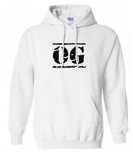 Load image into Gallery viewer, white og mens pullover hoodie