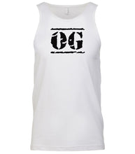 Load image into Gallery viewer, white og mens tank top