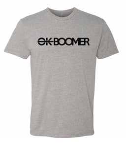 grey ok boomer t-shirt
