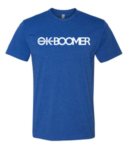 royal ok boomer t-shirt