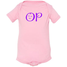 Load image into Gallery viewer, pink OP onesie for babies