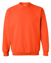 Load image into Gallery viewer, orange crewneck sweatshirt
