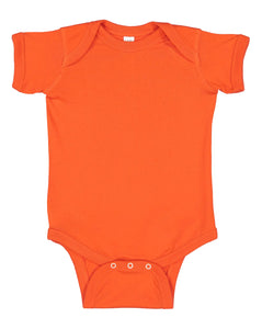 orange onesie for babies