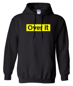 black over it hoodie