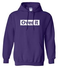 Load image into Gallery viewer, purple over it hoodie