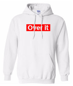 white over it hoodie
