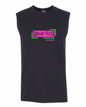 Load image into Gallery viewer, florescent pink perfect men's sleeveless tee tank top