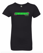 Load image into Gallery viewer, florescent green personable neon streetwear t shirt for girls