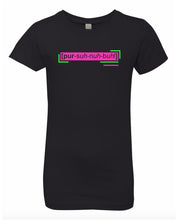 Load image into Gallery viewer, florescent pink personable neon streetwear t shirt for girls